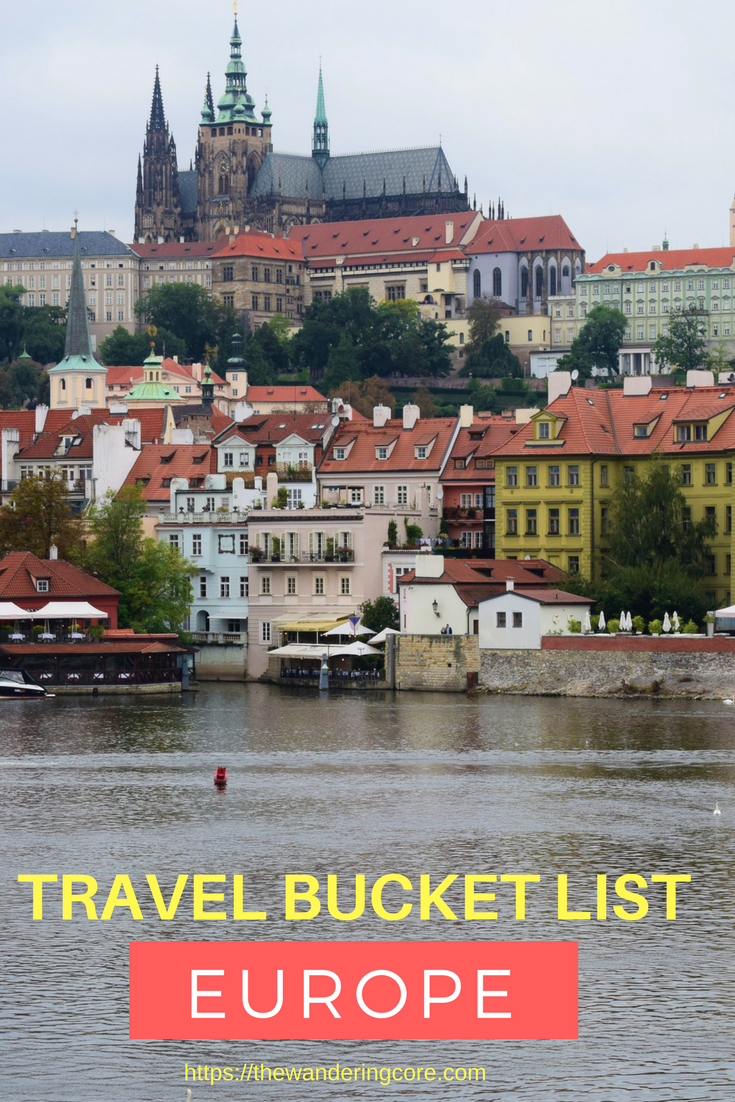 Europe - Bucket List!!!  - cover