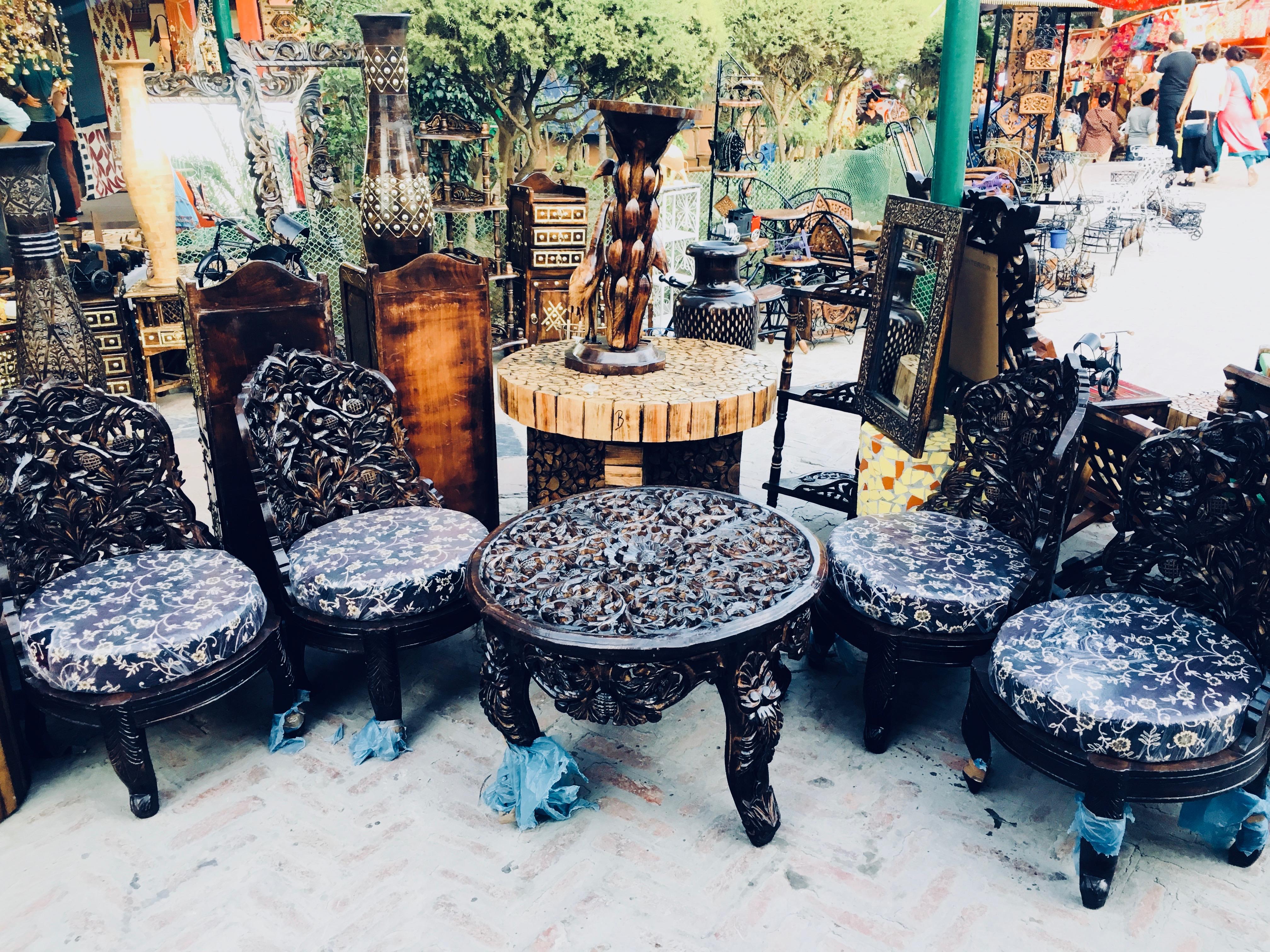 Dilli Haat Handicraft Market In Delhi